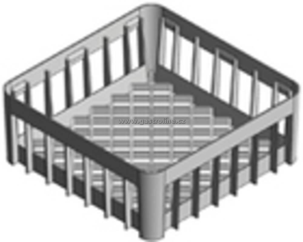 KOŠ UNIVERZÁLNÍ PLASTOVÝ, rozměr 400/400 mm